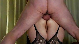 [Homemade] Pounding My Russian GFs Fat Ass