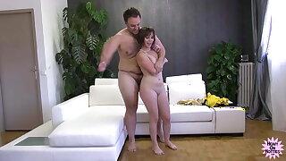Full Facial For French Super Slut