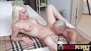 Smut Puppet - Eating out a Shaved Teen's Pussy, Compilation