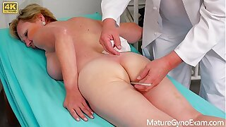 Old pussy exam be advisable for hairy blonde granny