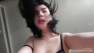 Young Vietnamese prostitute fucks for money in a hostelry square