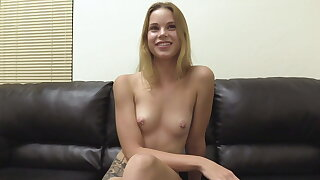 Ridiculously Beloved 19 Year Old Blonde Candace Butt Fucked