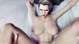 Lecherous3d cartoon cougar senseless xxx clip