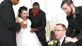 Payton Preslee's Connubial Turns Rough Interracial Threesome