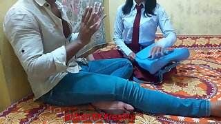 Indian Ever Best School Girl Without Affiliated to The waves Bang, In Clear Hindi Voice - Indian