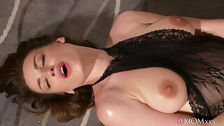 Thomas banged Victoria Daniels all over the office